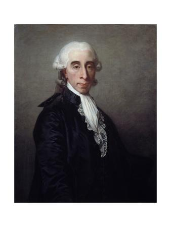 Portrait of Jean Sylvain Bailly by Jean Laurent Mosnier