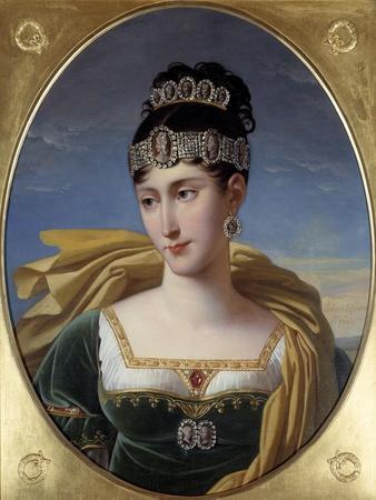 Portrait of Pauline Bonaparte, Princess Borghese by Robert Lefevre