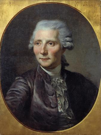 Portrait of Pierre-Augustin Caron De Beaumarchais - by Paul Constant Soyer