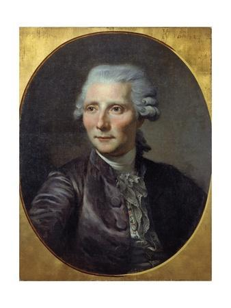 Portrait of Pierre-Augustin Caron De Beaumarchais - by Paul Constant Soyer