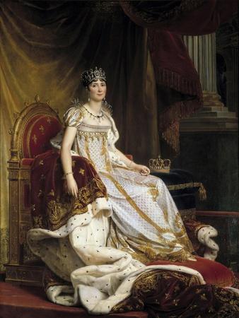 Portrait of the Empress Josephine De Beauharnais