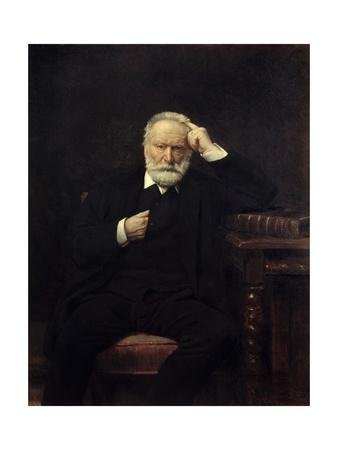 Portrait of Victor Hugo - by Leon Joseph Bonnat