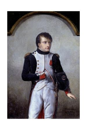 Portrait of Napoleon Bonaparte, First Consul by Jean-Baptiste Isabey