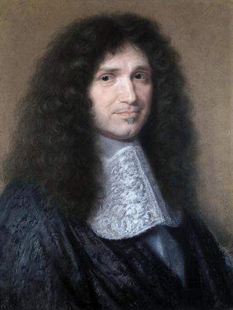 Portrait of Colbert, Minister of Finances by Robert Nanteuil