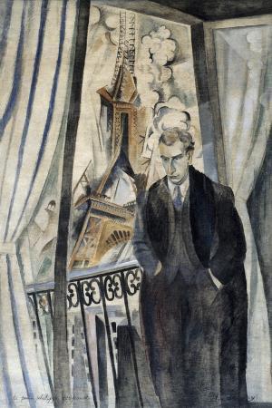 Portrait of the Poet Philippe Soupault