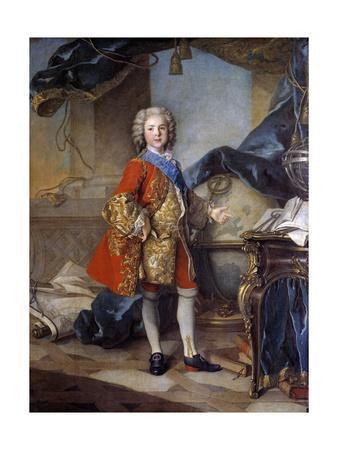 Portrait of the Dauphin Louis De France by Louis Tocque