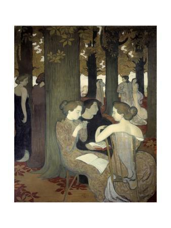 The Muses or in the Park by Maurice Denis