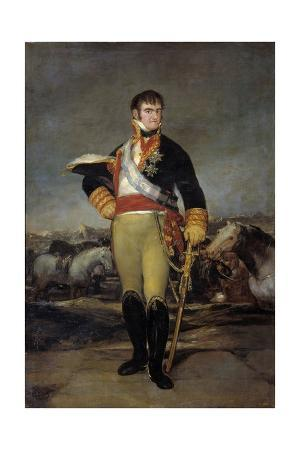 Portrait of Ferdinand VII by Francisco De Goya