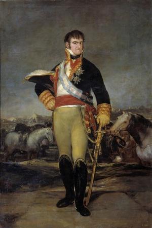 Portrait of Ferdinand VII by Francisco De Goya