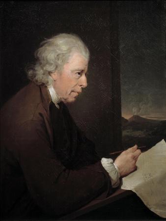 Portrait of John Whitehurst by Joseph Wright of Derby