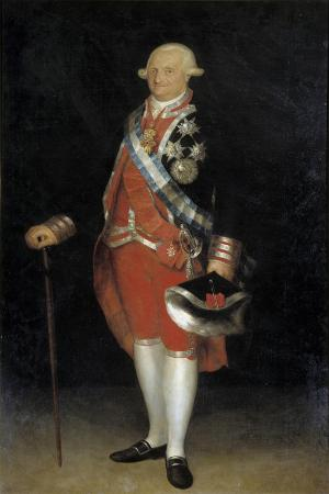 Portrait of Charles IV of Spain by Francisco De Goya