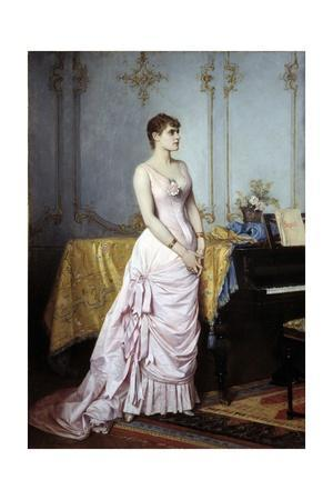 Portrait of the Singer Rose Caron by Auguste Toulmouche