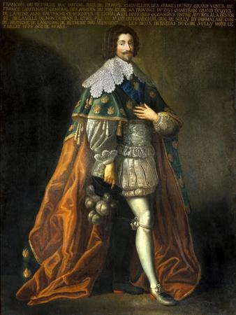 Portrait of Francois De Bethune Duke of Orval