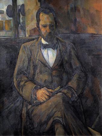 Portrait of Ambroise Vollard, Art Dealer, by Paul Cezanne