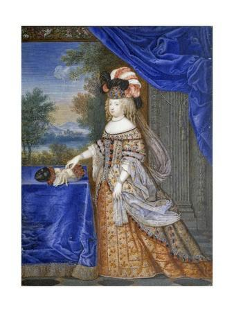 Portrait of Maria Theresa in a Polish Costume by Joseph Werner