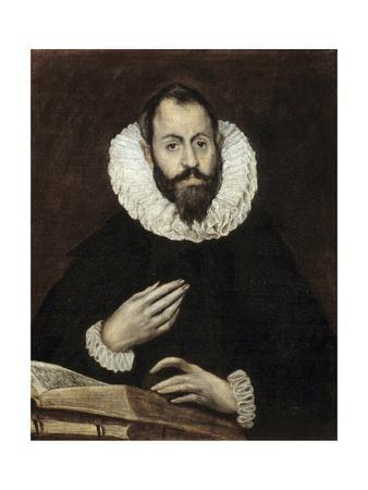 Portrait of a Man by El Greco