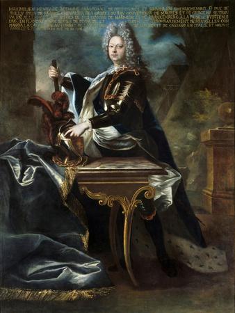 Portrait of Maximilien Henri VI De Bethune Attributed to Hyacinthe Rigaud