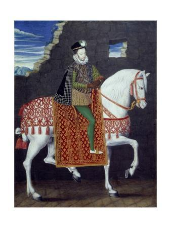 Equestrian Portrait of Henry Iii, King of France