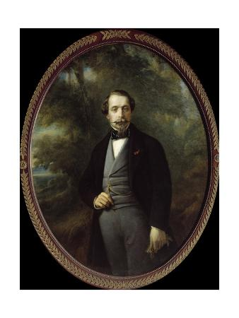 Portrait of Napoleon III by Franz Xaver Winterhalter