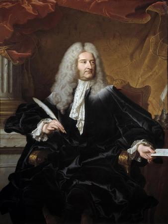 Portrait of Germain Louis De Chauvelin by Hyacinthe Rigaud