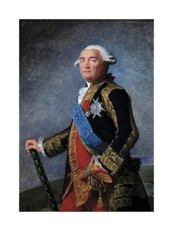 Portrait of Philippe Henri De Segur by Elisabeth Vigee-Lebrun
