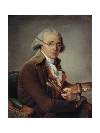 Portrait of the Painter Francois-Andre Vincent by Adelaide Labille-Guiard