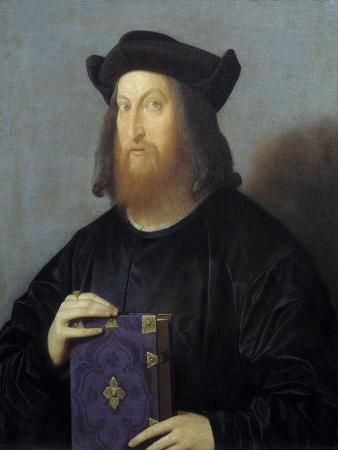 Portrait of Giangiorgio Trissino by Vincenzo Catena