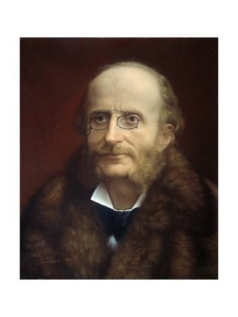 Portrait of Jacques Offenbach by Grunewald