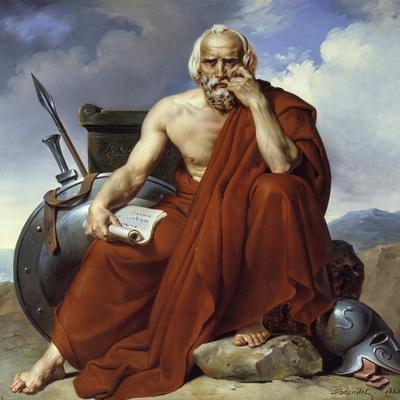 Portrait of Lycurgus, Legislator of Sparta by Merry Joseph Blondel (