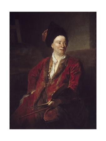 Portrait of Jean Baptiste Forest by Nicolas De Largilliere