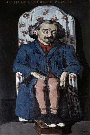 Portrait of Achille Emperaire by Paul Cezanne