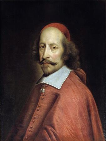 Portrait of Cardinal Jules Mazarin by Pierre Mignard