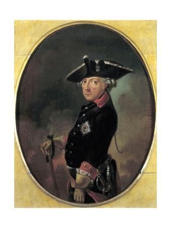 Portrait of Frederick the Great King of Prussia