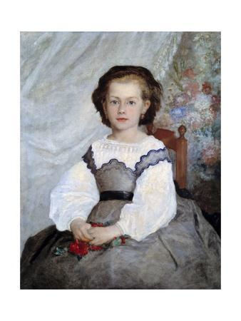 Portrait of Romaine Lacaux by Pierre-Auguste Renoir