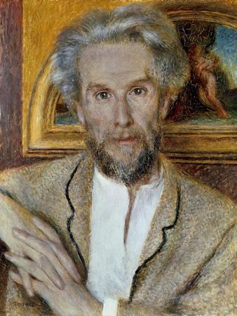 Portrait of Victor Choquet by Pierre-Auguste Renoir
