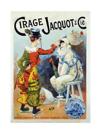 Advertisement for Wax Jacquo by Lucien Lefevre, 1894