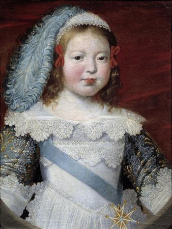 Portrait of the Dauphin, the Future Louis XIV by Claude Deruet