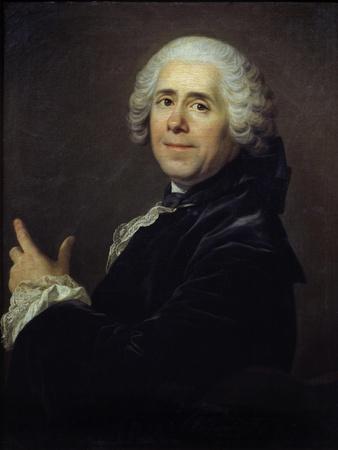 Portrait of Marivaux by Louis Michel Van Loo