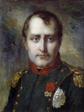 Last Portrait of Napoleon I by Pierre Paul Prud'hon
