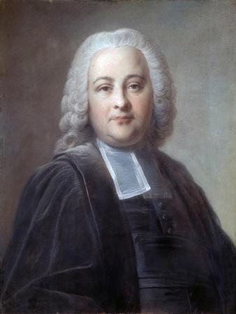 Portrait of Chretien Guillaume De Lamoignon De Malesherbes by Jean Valade