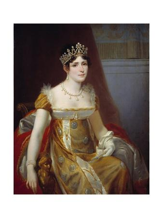 Portrait of Empress Josephine De Beauharnais by Hector Viger