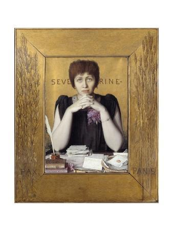Portrait of Severine by Louis Welden Hawkins