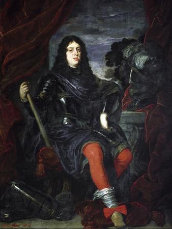 Portrait of Cosimo III De Medici as a Young Man by Justus Sustermans