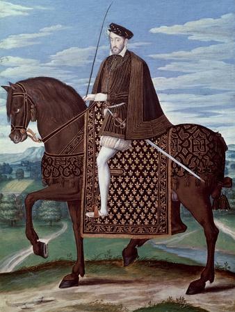 Equestrian Portrait of King Henry II