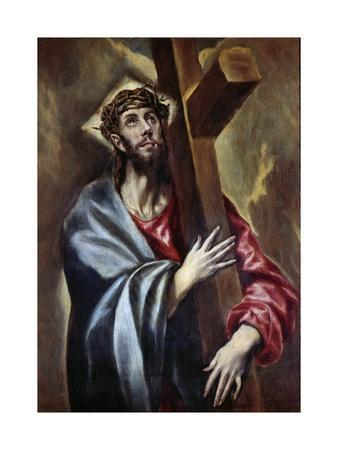 Christ Carrying the Cross. Painting by El Greco