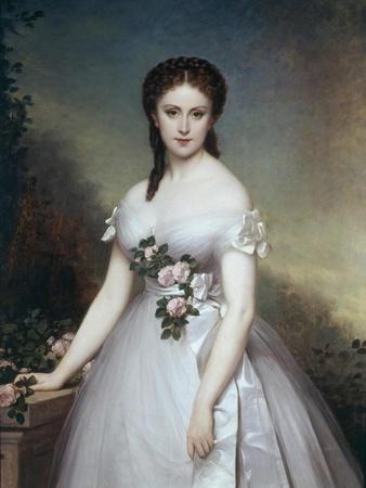 Portrait of Marie Rose by Alexis-Joseph Perignon