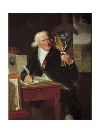 Portrait of Antoine Augustin, Baron Parmentier