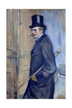 Portrait of Louis Pascal by Henri De Toulouse Lautrec