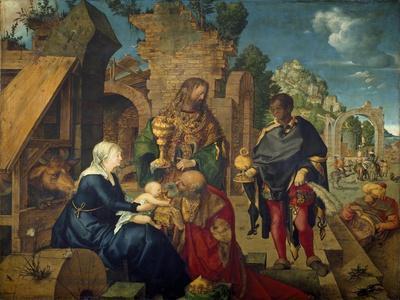 Adoration of the Magi by Albrecht Durer