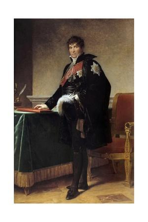 Portrait of the Count Michel Regnault De Saint Jean D'angely by Francois Gerard